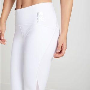 SoulCycle x lululemon Train Times White Pants 7/8